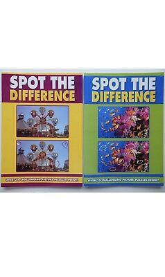 Spot The Difference Set Of Two Books New