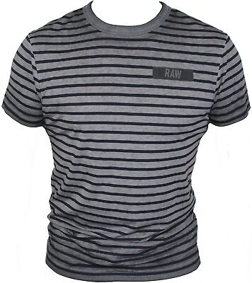 New G-Star Raw Mens T-Shirt Round Neck in Raven Colour Size M