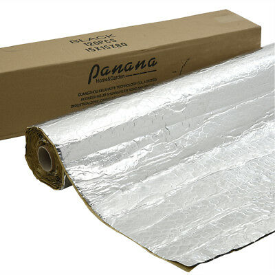 Self-adhesive Car Sound Deadening 4.66m Foil Bulk Roll Vibration Proofing Mat UK