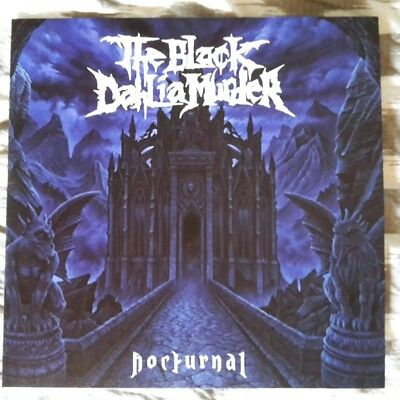 The Black Dahlia Murder ‎/ Nocturnal Limited edition 171/300 black / blue