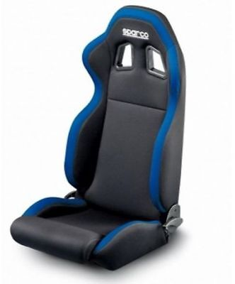 Land Rover Defender - Sparco R100 Black / Blue Seat - Da7302