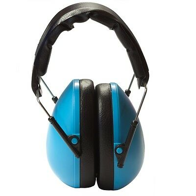 New Blue kids ear muffs  - Children's Hearing Protection Earmuffs 6m to 16y