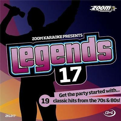 Zoom Karaoke CD + G Legends Volume 17 Supertramp/Electric Light Orchestra/10cc