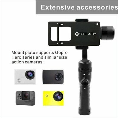 iSTEADY 3-Axis Handheld Gimbal Phone Stabilizer for Smartphones GC2 Black FK