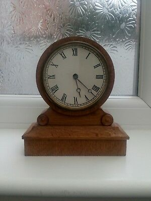 ANTIQUE FRENCH 8 DAY DRUMHEAD MANTLE CLOCK BY V.A.P. Brevete.c1890