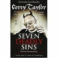 Seven Deadly Sins by Corey Taylor (Paperback Book 2012)