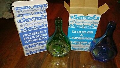 1971 Great American Series Decanters carnival glass by wheaton Charles...