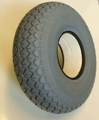 330x100 4.00-5 Solid Block Mobility Scooter Tyre 400x5 No Punctures