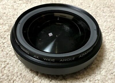 Century Optics .6x Wide Angle Adapter, Bayonet Mount Lens for Sony HDV