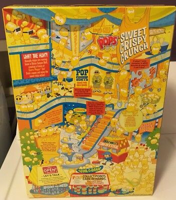 Kellogg's Corn Pops Banned Racist Back Cover And Trump? BOX ONLY Recalled