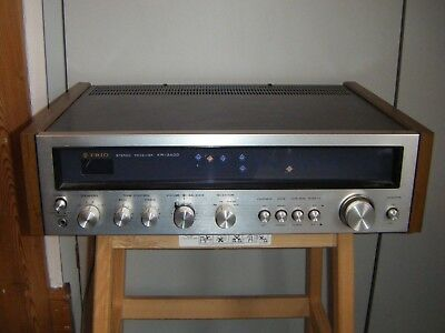 Trio/ Kenwood KR-3400 AM/FM Stereo Amplifier/ Receiver