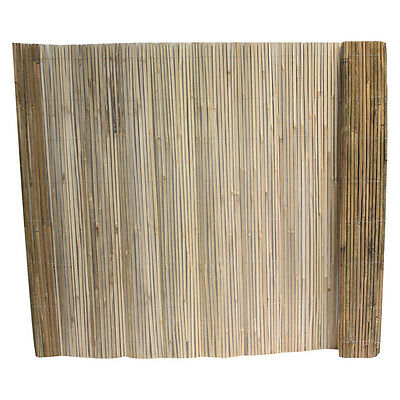 Split Bamboo Screen 1.5x 4m Decorative Garden Privacy Slat Screening Fence Panel