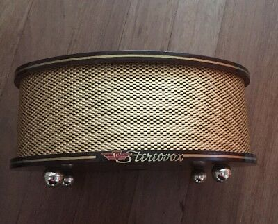 Wooden Stereovox In Immaculate Condition