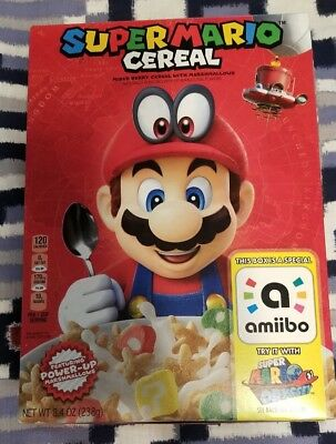 Super Mario Cereal (AMIIBO BOX ONLY)
