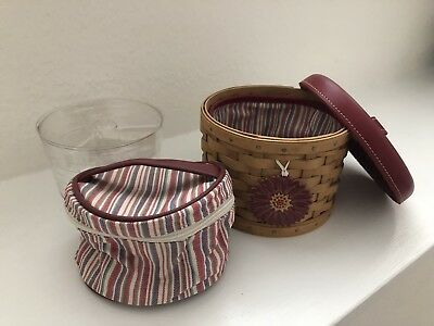 Longaberger Mom's Essentials Mother's Day 2004 Basket Combo