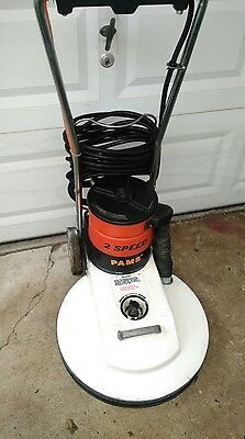 Minuteman Pams 20 Inch High Speed Floor Buffer/ Dust Control System