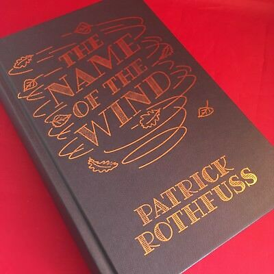 The Name of Wind - Patrick Rothfuss - Signed Numbered Hardback HB - BRAND NEW