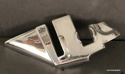 MERCEDES 230sl  Chrome cap B-pillar 113 Pagoda LEFT 1963 to mid 1966 230sl's OEM