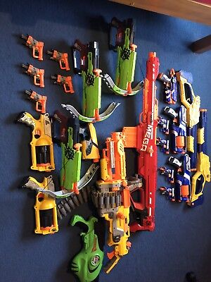 Nerf Gun Bundle With No Bullets