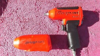 """Snap-On *mint!* 3/8"""" Drive Mg325 Super Duty Impact Wrench!  Cost $460.00!"""