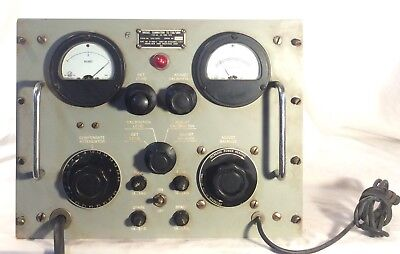 Vintage Military Communications Ham Radio Bridge Summation TS 730 Meter