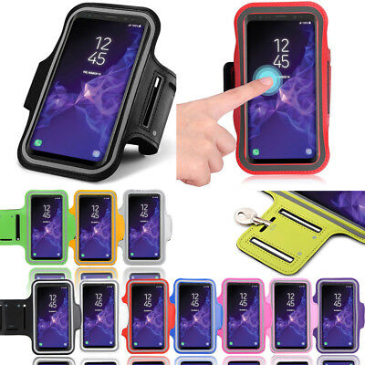 Fancy Running Jogging  Workout Gym Armband Case Cover for Samsung Galaxy S9 Plus