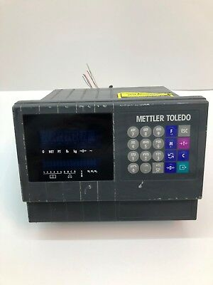 Mettler Toldedo Jagxtreme Scale Display USED