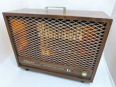 Vintage Midcentury Space Heater Electric Arvin Model 5518 Works Read Descrip 39