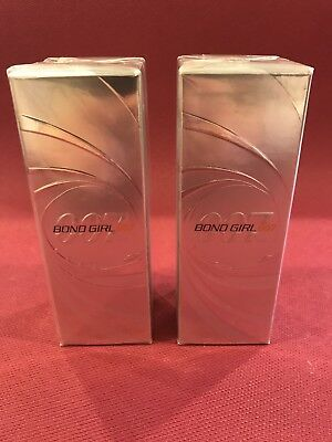 Bond Girl 007 Perfume Avon sealed new  Discontinued LOT of 2!
