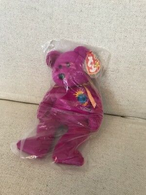 Ty Beanie Baby Millennium Bear Still In Manufacturers Bag ( Unopened By Store)