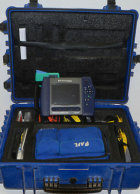 NOYES C850 Quad SM MM Wavelength OTDR W/VFL & OPM with Accessories