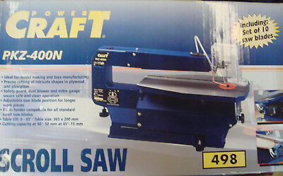 Power Craft Scroll Saw With 9 Blades