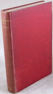 1929 A Subaltern's War Charles Edmonds Somme Ypres Trench Warfare