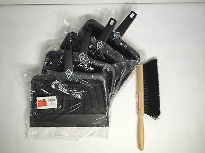Lot of 4 Grainger Tough Guy Dustpans w/ Bonus Brush 1VAJ7 NXZ9A