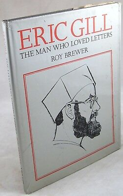 1973 ERIC GILL Typography Roy Brewer 1st HBDJ