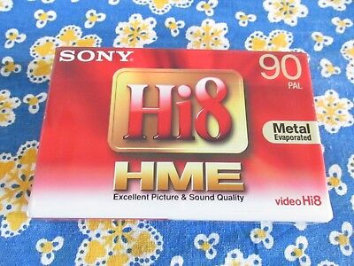 Sony Hi8 HME 90 Pal Metal