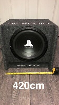"""JL Audio Subwoofer Package 12"""" Sub And JL sub amp"""