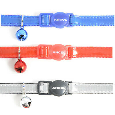 Quality Ancol cat collars:Reflective,Camouflage or Soft weave. Mix,match,save 💕