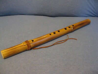Native American Style Bamboo Flute/Key of F/Handcrafted