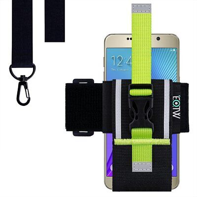 """Running Exercise Armband Universal Cell Phone Case Holder Sport Arm Band  5.2-6"""""""
