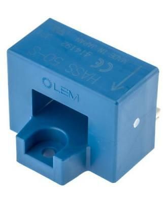 LEM HASS 50-S Open Loop Hall Effect Current Transducer, ±150 A AC/DC, 5V Supply