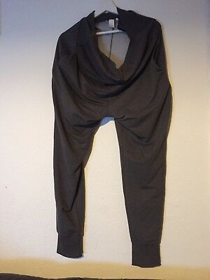 H and M XL maternity grey tracksuit bottoms