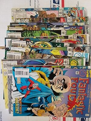 Fantastic Four 300-397 (lot of 66) C disc. 4#s VF Free Priority Box Shipping