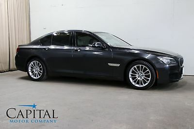 2014 BMW 7-Series 750i xDrive AWD M-SPORT Executive Pkg, Htd & Cooled Seats! V8! Like an Audi A8, Porsche Panamera 750li