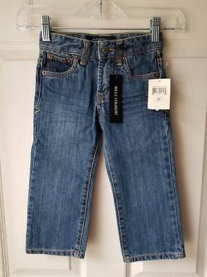 New LUCKY BRAND Billy Straight Jeans SIZE 2T Adjustable Waist
