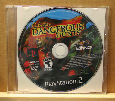 Sony Playstation 2 - Cabela's Dangerous Hunts (2003)