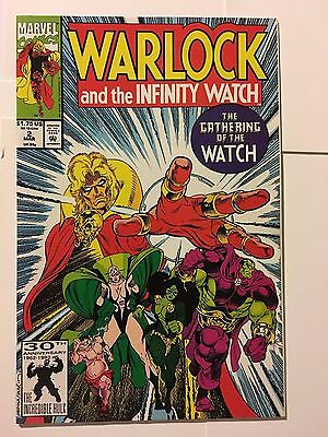 WARLOCK and the Infinity Watch #2 gauntlet Jim Starlin Thanos