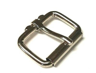 "Belt Buckle 1.75"" -1 3/4"" Roller Steel High Quality Buckle Leather craft DIY"