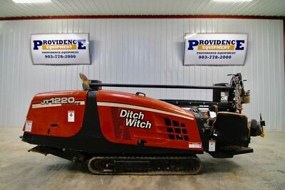 Ditch Witch Jt1220 Mach1 Direction Drill, 12,000 Lbs. Pullback Force, 521 Hrs!
