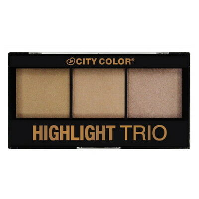 City Color Highlight Trio Palette. Highlight And Bronze. Brand New & Sealed X
